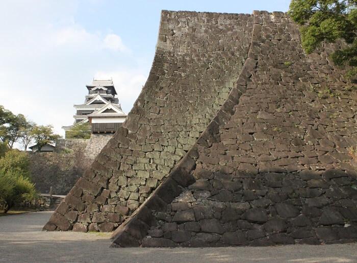 熊本城、石垣、加藤清正
