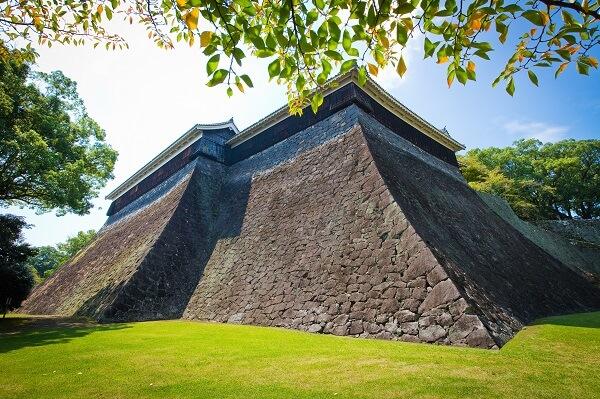 熊本城、石垣、加藤清正、北十八間櫓