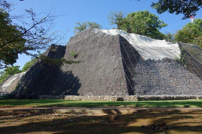 熊本城、北十八間櫓、加藤清正、石垣、