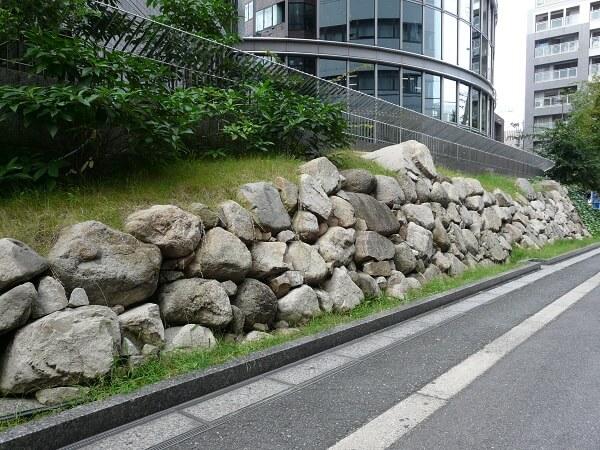 大坂城、惣構、遺構