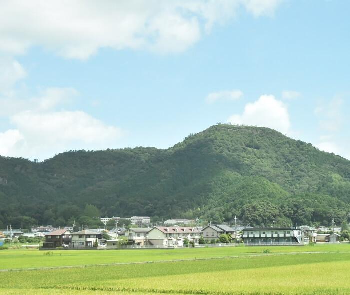 黒井城、猪ノ口山