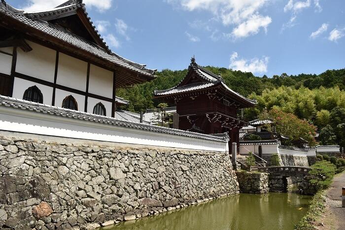 興禅寺、石垣、下館