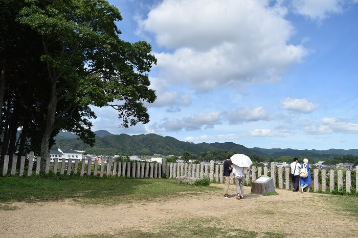 篠山城、天守台、石垣