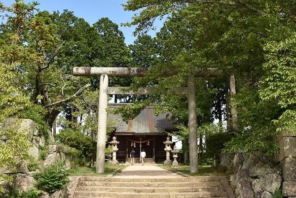 篠山城、青山家、青山神社、二の丸跡地