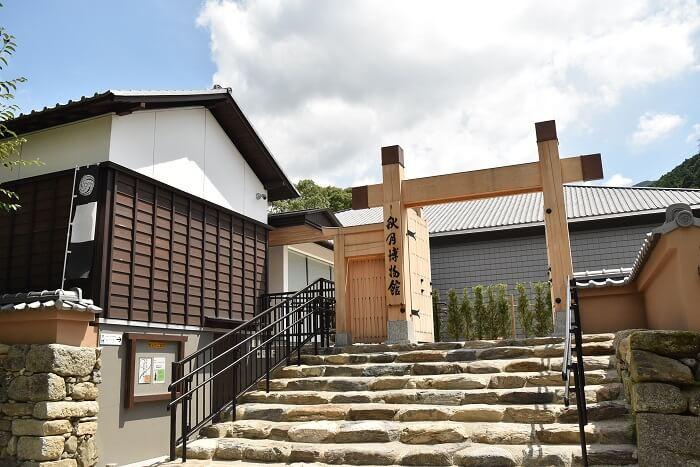 朝倉市秋月博物館、秋月城