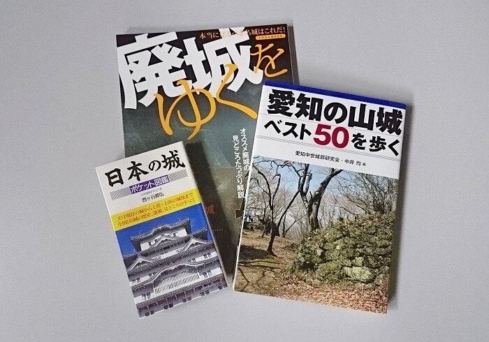 廃城をゆく、愛知の山城、日本の城
