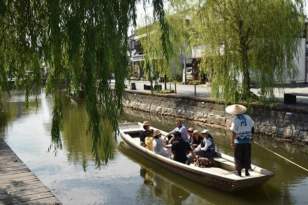 柳川、城下町、柳川城、水郷めぐり