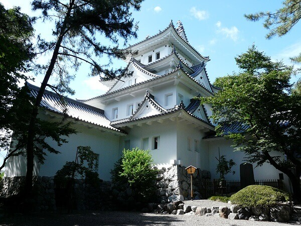 石田三成、大垣城