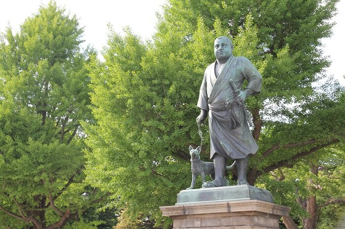 上野、西郷隆盛像、明治維新