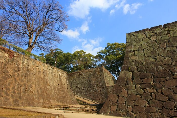 熊本城、石垣、櫓群
