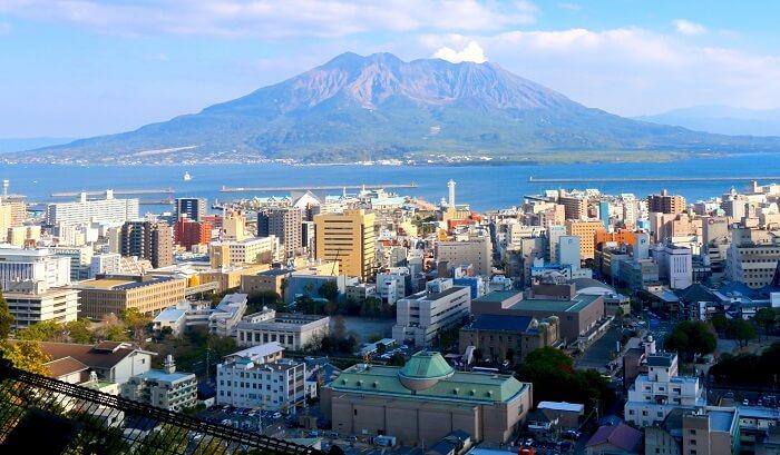 上山城、城山、桜島