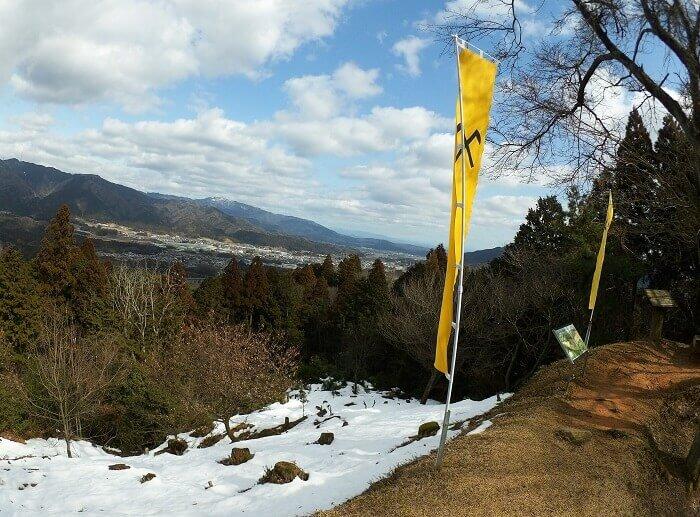 松尾山城、関ヶ原