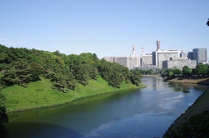 桜田濠、江戸城