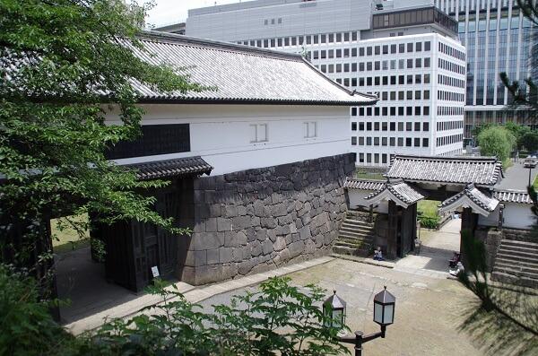 江戸城、清水門、表門、