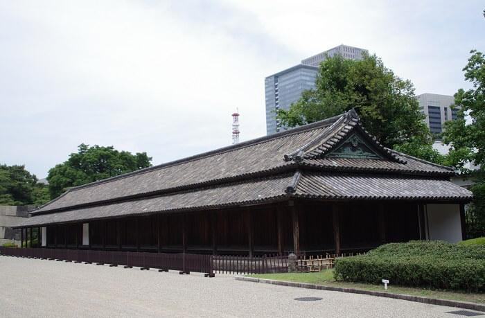 江戸城、百人番所、検問所、本丸、二の丸
