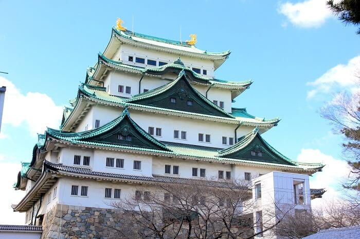 名古屋城、天守、破風
