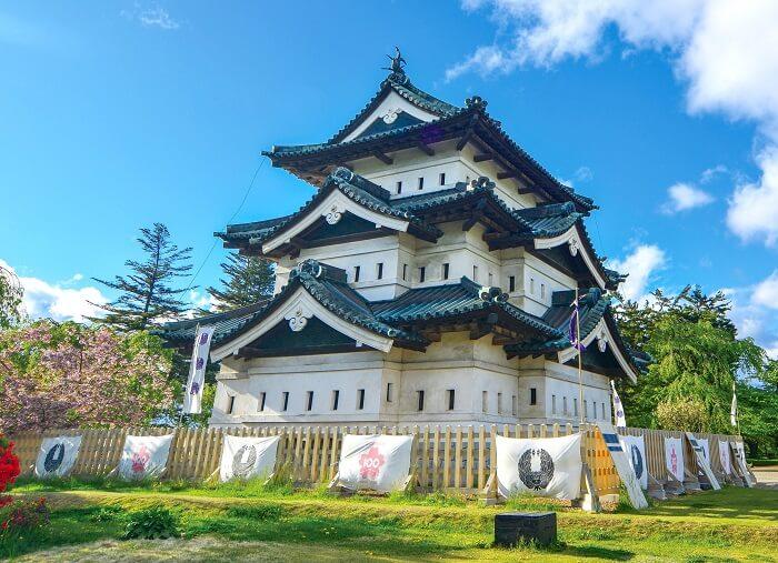 弘前城、天守、多聞櫓