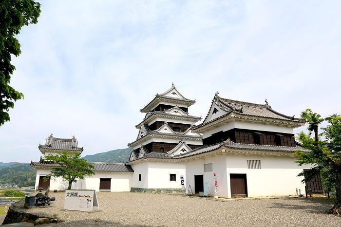 大洲城、附属櫓、天守、渡櫓