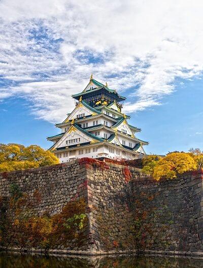 大阪城、天守