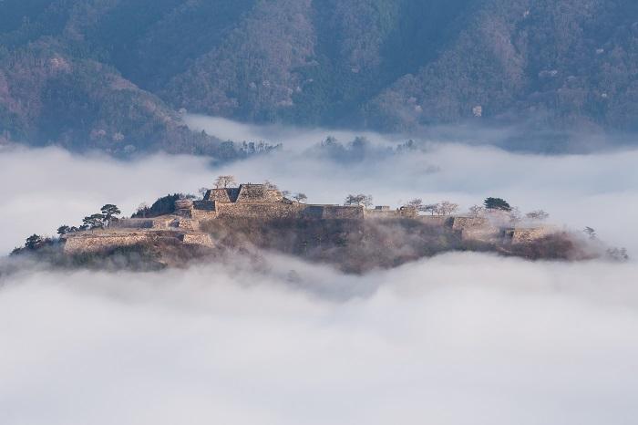 竹田城、立雲峡、展望台