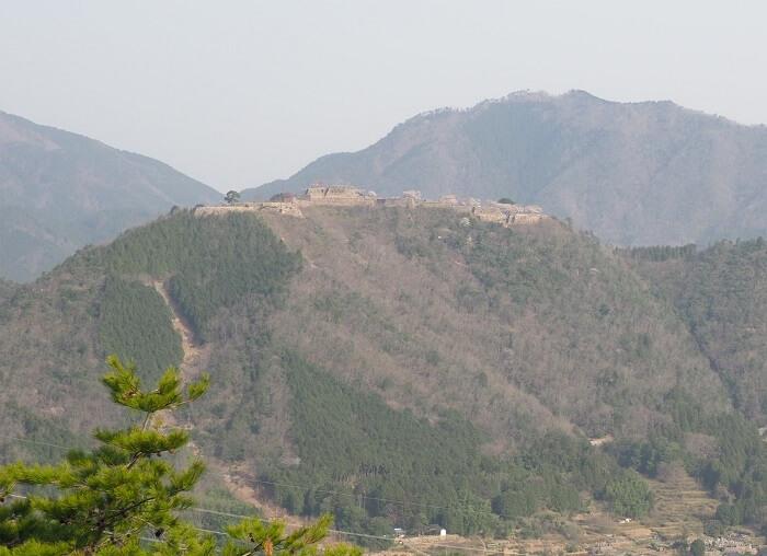 立雲峡、竹田城、石垣、