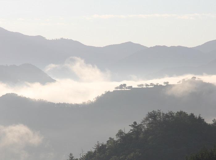 竹田城、藤和峠、立雲峡