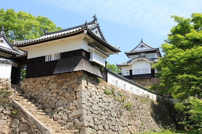備中松山城、天守、五の平櫓、