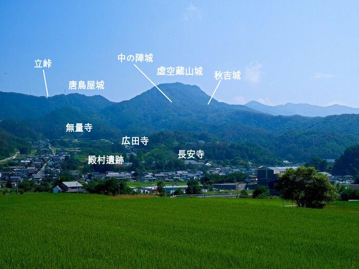 虚空蔵山城、松本市、長野県