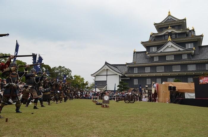 岡山城、宇喜多秀家☆フェス、備州岡山城鉄砲隊