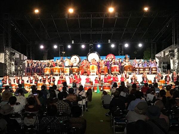 熊本城、秋のくまもとお城まつり、太鼓響演会