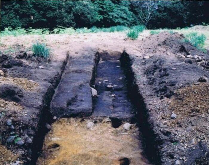 二の曲輪東馬出、諏訪原城、発掘