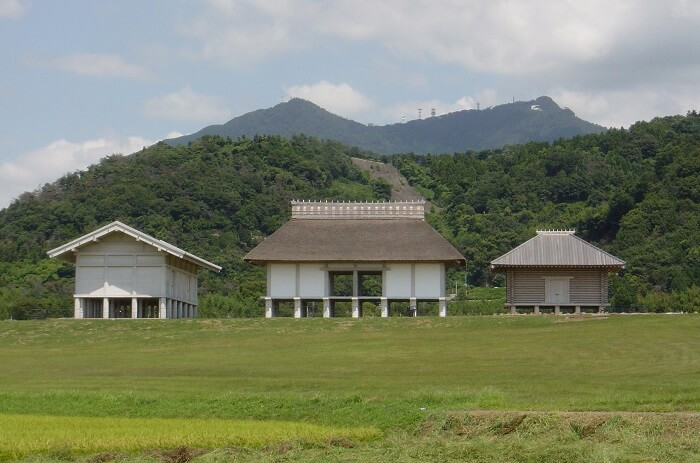 平沢官衙遺跡歴史、復元建物、つくば市