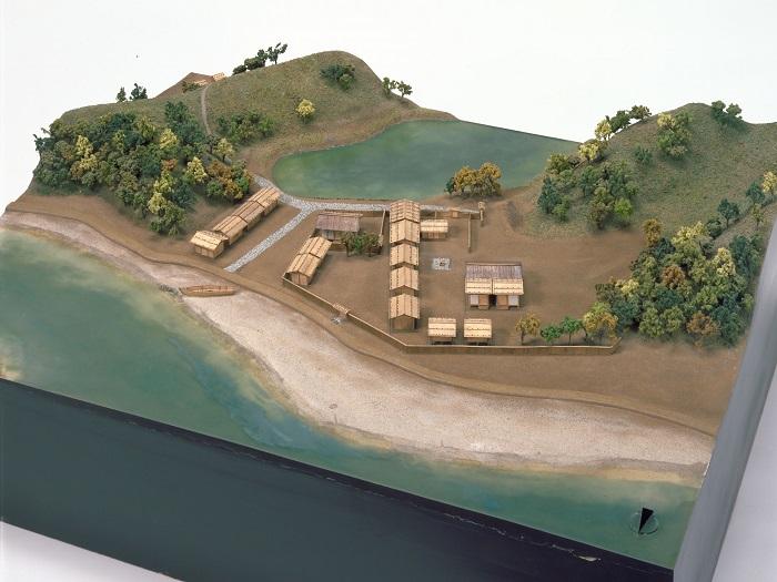 志太郡家(郡衙)復元模型