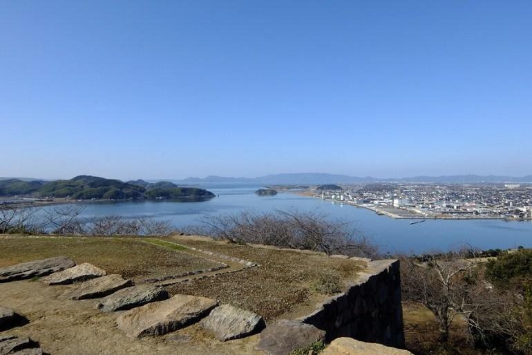 米子城、本丸