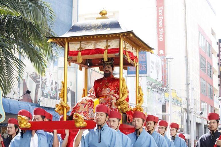 琉球王朝絵巻行列、首里城、首里城祭