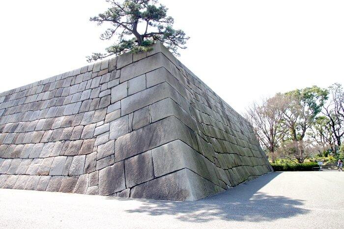 江戸城、園主、石垣、算木積