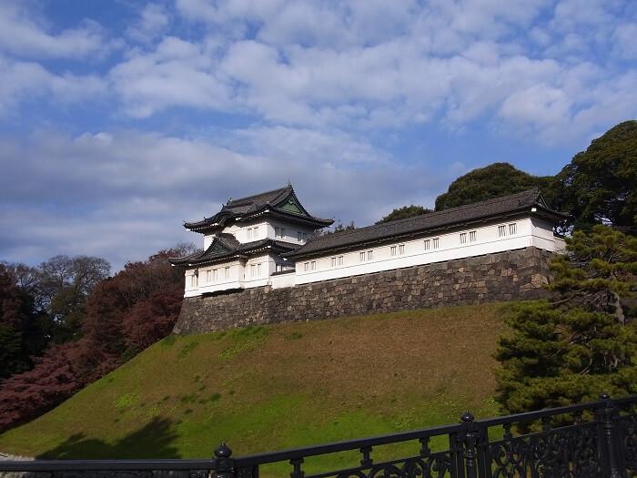 江戸城、伏見櫓、三の丸巽櫓