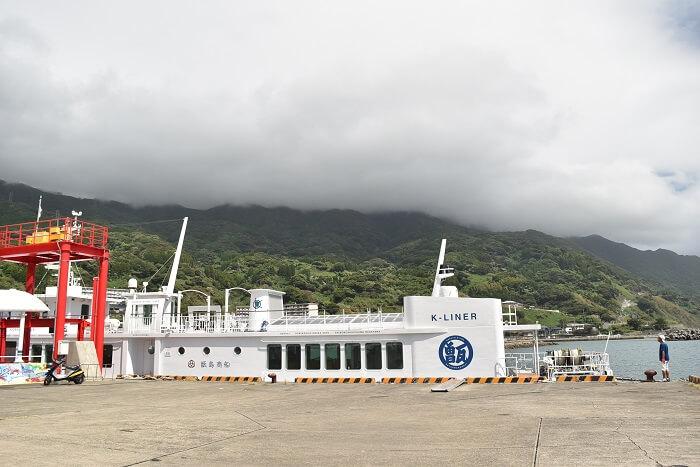 高速船甑島、川内港、甑島
