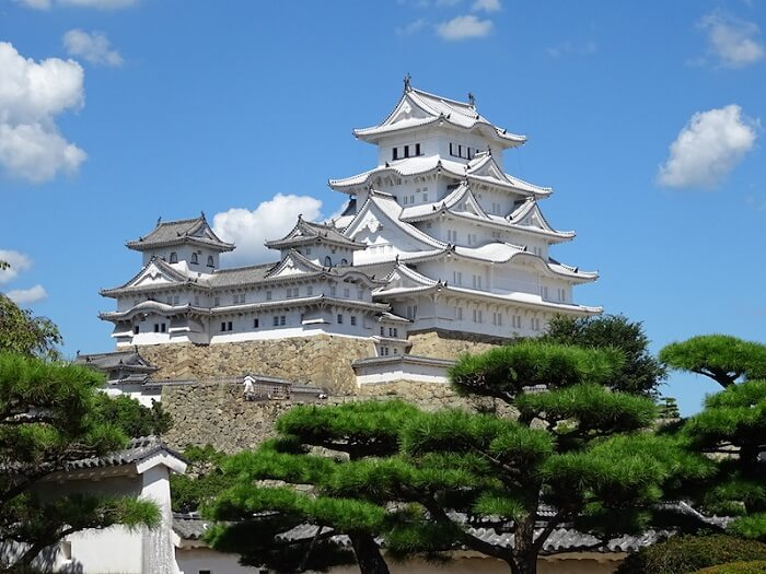 姫路城、天守、城漆喰総塗龍、現存12天守