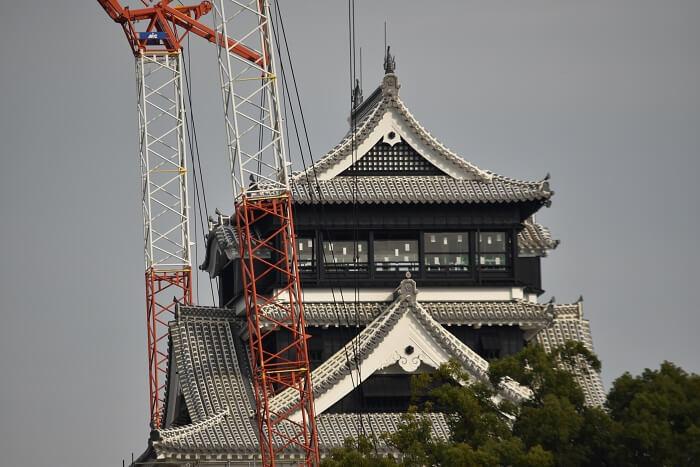 熊本城、大天守、鯱