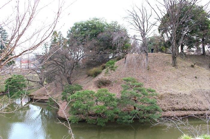 上田城、本丸、北東部、鬼門よけ