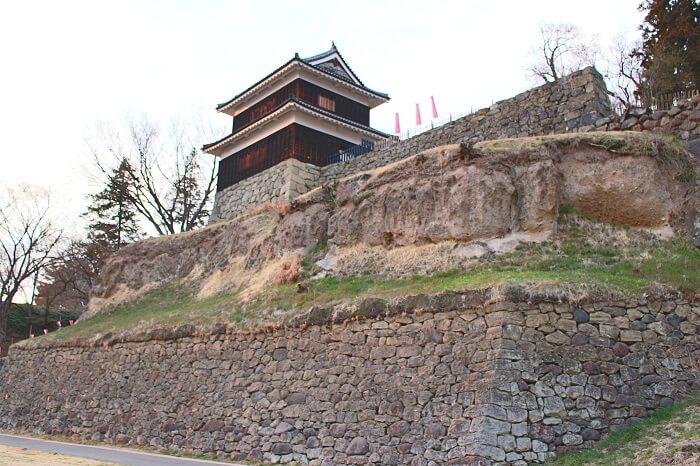 上田城、西櫓、西川手櫓