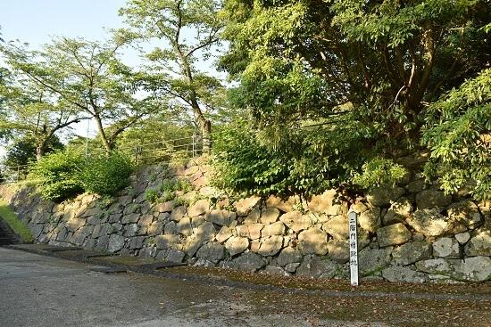 延岡城、有馬氏、二階門櫓跡