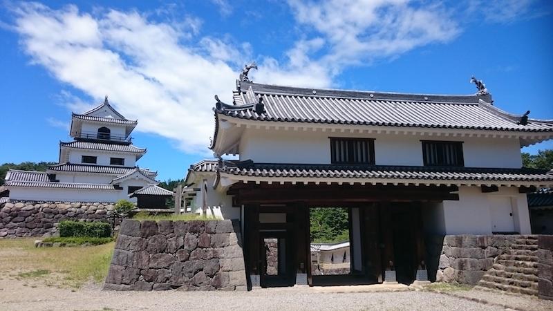 宮城県、白石城、続日本100名城