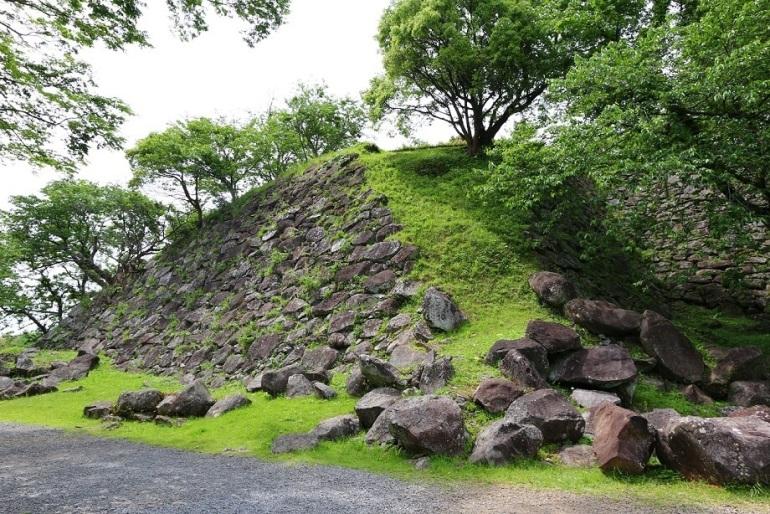 肥前名護屋城、お城セミナー、石垣