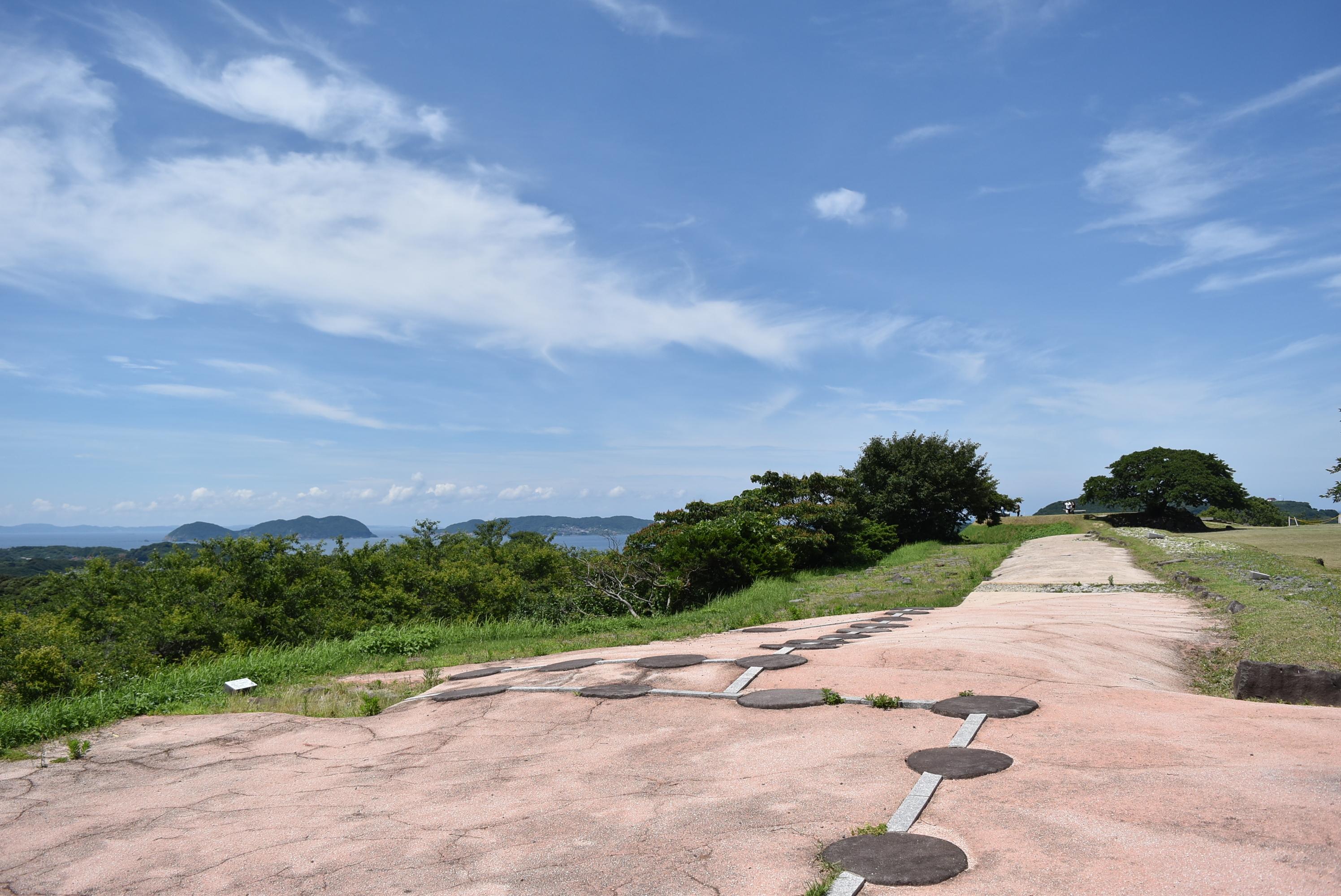 名護屋城、本丸跡