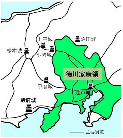 徳川領、金箔瓦、城