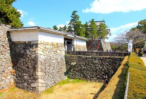 名古屋城、本丸、表二之門、東南隅櫓、横矢