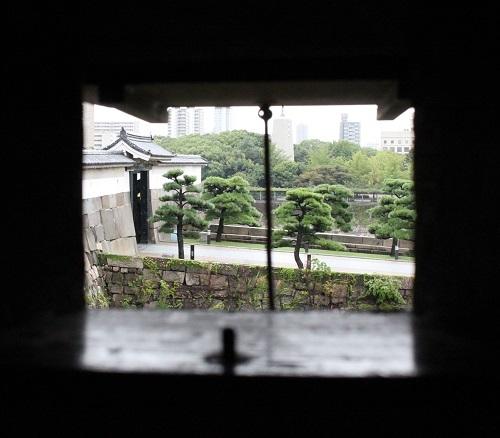 千貫櫓、大阪城大手門