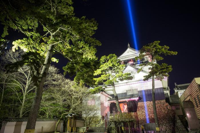岡崎城、家康公生誕祭